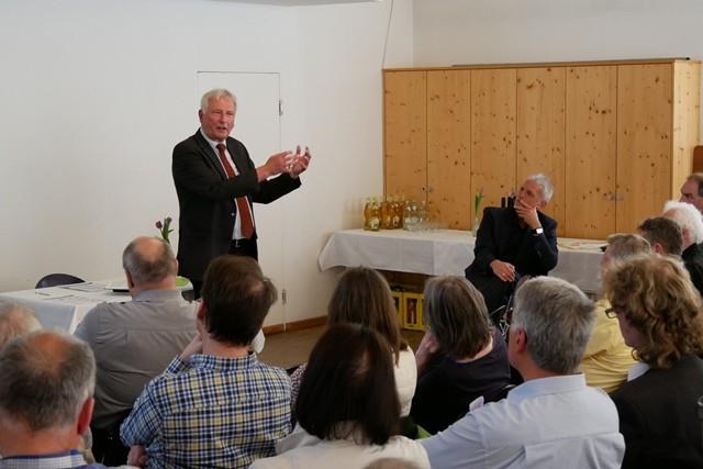 Ökumen. Pfarrkonferenz Prof. Dr. Wenz, Foto: Hofmann-Laveuve