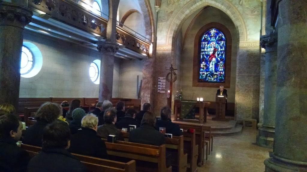Pfarrkonferenz - Besuch Landesbischof i.R. Friedrich, Foto: Hofmann-Laveuve