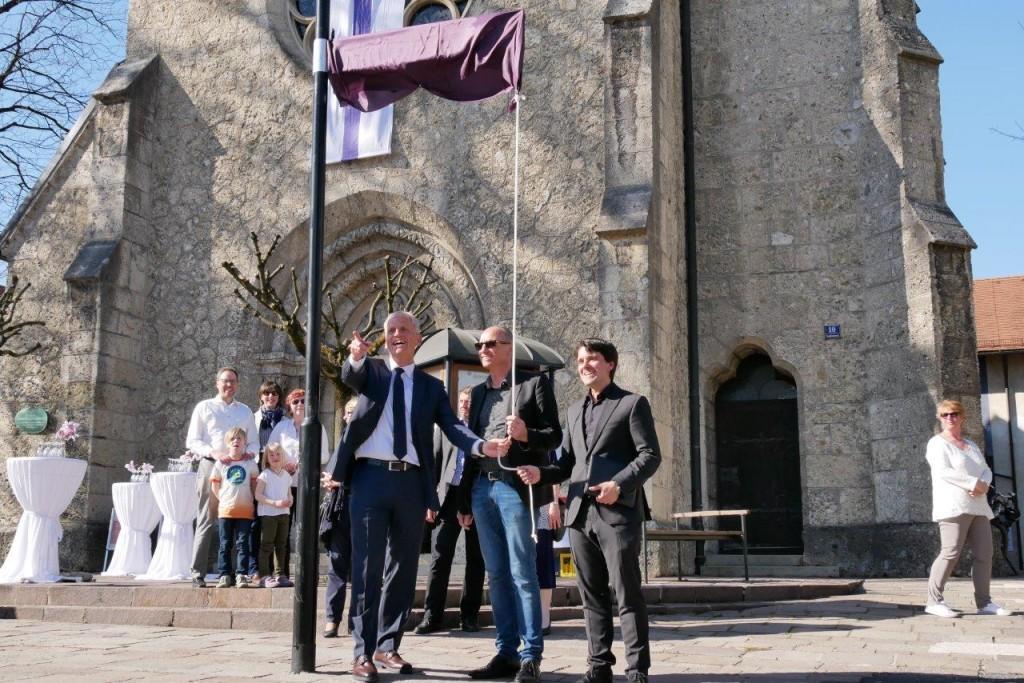 Umbenennung Martin-Luther-Platz; Foto: Hofmann-Laveuve