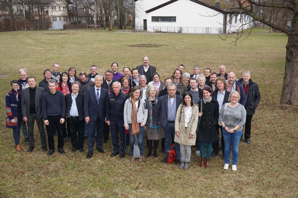 Besuch des Pfarrkapitels im Ausbildungsinstitut der Polizei Ainring, Foto: Weichold