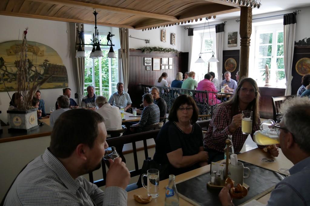 Sommerkonferenz - Führung Hofbräuhaus Traunstein, Foto: Hofmann-Laveuve