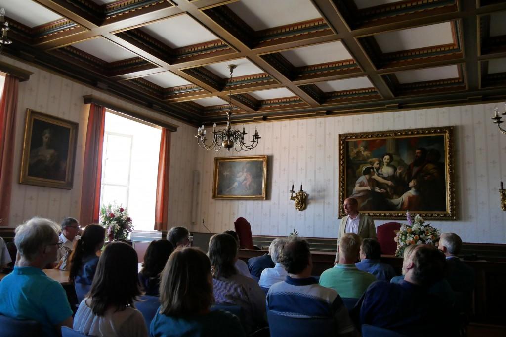 Sommerkonferenz - Empfang des Pfarrkapitels bei OB Kegel, Foto: Hofmann-Laveuve